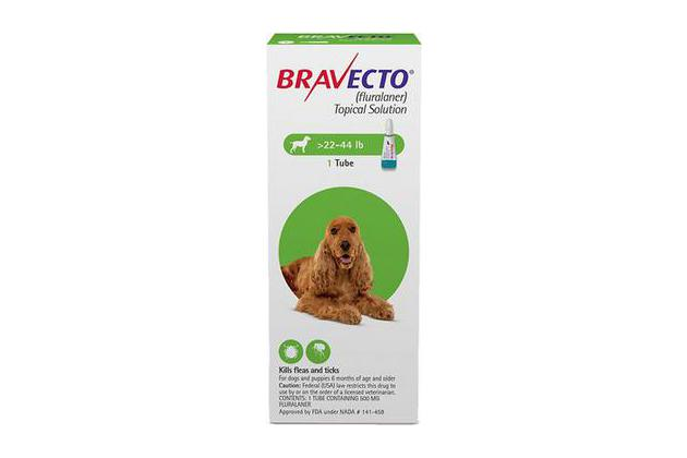 Bravecto Topical Solution for Dogs (22 to 44 pounds)